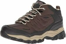 Skechers After Burn Memory Fit Geardo Men's Brown/Black MidTop Sneakers US 14