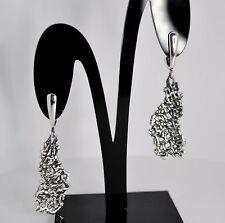 925 argento Sterling Fatto a mano in oro no orecchini pietra