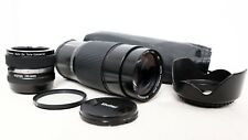 Olympus PEN OM Panasonic LUMIX MICRO 4/3 DSLR FIT VIVITAR 200mm 400mm Zoom Lens