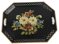 Large Nashco Vintage Hand Painted Tray