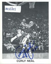 Curly Neal Harlem Globetrotters Autographed Signed 8x10 Photo #2 COA