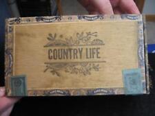 Rare Country Life Cigar Box, H. Plotkin Manufacturer, West Haven, Conn