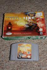 Top Gear Hyper Bike (Nintendo 64 n64) with Box FAIR