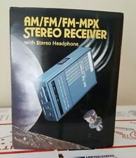 Vintage Bentley AM/FM MPX Portable Stereo In Original Box Works Great Deadstock