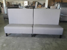 Booth bench for restaurant and other public places