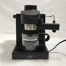 Melitta Espresso Cappuccino Machine Model MEXKITB Black Coffee Maker with Carafe