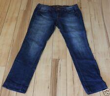 "ARIZONA Jeans Size 13 Stretch Womens Dark Wash Shortened 30"" Inseam 33x30"