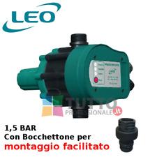 Press control pompa Pressostato elettronico autoclave pressione 1,5 BAR
