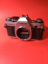 Canon AE-1 35 mm Camera Body Chrome Body Only, Working Condition