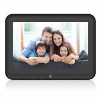 """HP 10.1"""" IPS Touchscreen Wi-Fi Digital Photo Frame with App Built-in Speakers"""