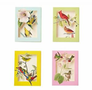 "THE METROPOLITAN MUSEUM OF ART, ""AUDUBON BIRDS POP-UP"", SET OF 8 NOTE CARDS, NEW"