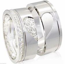 Unisex Ringe mit echten Edelsteinen aus Sterlingsilber