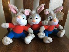 Walt Disney Song of the South Brer Rabbits Plush - Lot of 3