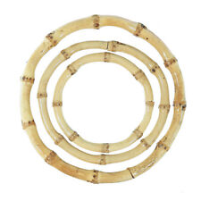 Natural Bamboo Hoops for Crafting Macramé, Dreamcatchers, Plant Hangers, & More