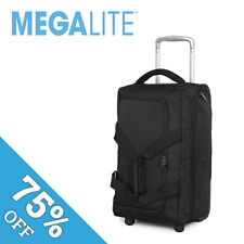 """IT Luggage Cabin Size Bag Ultra Lightweight Black All Airlines 19.5"""" Megalite"""