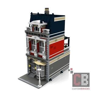 EIGENBAU PDF Bauanleitung Modular Haus Villa Ichon für LEGO® Steine zB 10185