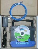 Linksys WRT54G V5 DD-WRT wireless Repeater Bridge range extender Access point