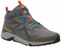 Columbia Men's Vitesse Mid Outdry Hiking Shoe, Nori/Cyber Purple, Size 7.5 RqcD