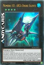 NUMERO 101: ARCA ONORE SILENTE (Number 101: Silent Honor Ark) Ultra R DUDE IT017