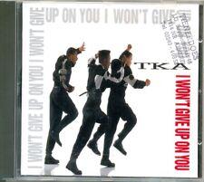 TKA - I won't give up on you 4TR CDM 1990 / RnB SWING / SWINGBEAT