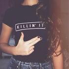 mode femmes été manche courte haut T-shirts femmes en vrac décontracté chemisier