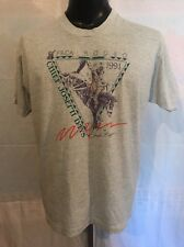 Vintage 1991 PRCA Rodeo T-shirt Chief Joseph Days Joseph, Oregon Screen Stars