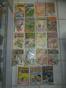 Richie Rich Harvey Comic Book Lot Billions Bank Books Jackpots Jackie Jokers