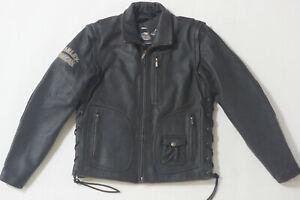 Harley Davidson Mens PANHEAD II 2 Convertible Leather Jacket Vest XLT 98023-12VM