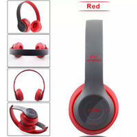 Foldable Wireless Bluetooth Headset Stereo Headphone for Mobile iPhone Samsung