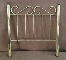 "Samantha 12"" headboard Brass Bed Replacement part gold American Girl Doll head"