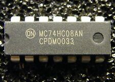 10x mc74hc08an quad 2-input and-Gate, on Semiconductor