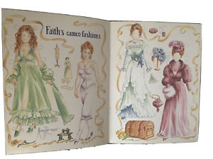 2000 Mary Reo FAITH's Cameo Fashions Paper Doll UNCUT