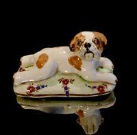 Vintage Signed Basil Matthews Bull Dog Figurine