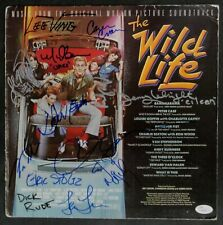 The Wild Life Cast Signed Auto Sound track Quaid Penn Cameron Crowe JSA Z68979