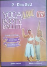 Yoga Booty Ballet LIVE (DVD, 2 Disc) As Seen On TV Hip Hop ABS & Cardio Cabaret