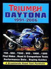 TRIUMPH DAYTONA MOTORCYCLE PORTFOLIO BOOK
