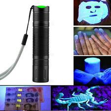365nm UV Purple Light Mini Flashlight Jade Cosmetic Fluorescence Detection Lamp