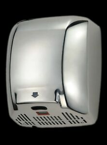 Chrome hand dryer - FREE DELIVERY