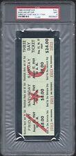 1969 WOODSTOCK MUSIC & ART FAIR FULL 3 DAY $24 GATE TICKET GRADE PSA 9 MINT