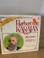 NEW SEALED Herbert von Karajan Brahms Sinfonia N. 2  LP Record Album