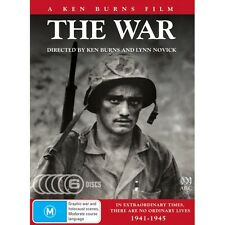 Ken Burns The War DVD HUGE Classic WW2 Doco 6x DVD Discs 864 mins