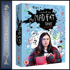 MY MAD FAT DIARY - COMPLETE SERIES 1 2 & 3 **BRAND NEW DVD BOXSET**