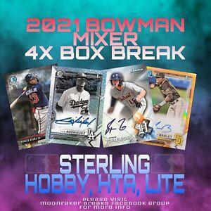 ROYALS 4 Box Break 2021 1x Bowman Chrome 1x Sterling Hobby 1x HTA 1x Lite #3
