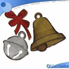 "Fustella Fustelle Sizzix ""campana e Sonagli"" 658765 - stampe Stampa per Big Shot"