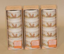 12 Hallmark Cards Betsey Clark Plastic Napkin Rings New in Box Hard to Find