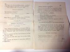 Regi Decreti 27/12/1863 -Istituti di Palasio, Fabriano e Iesi -583