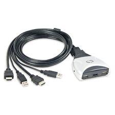 SYBA SY-KVM31034 2-port USB/HDMI Compact KVM Switch NEW!!!