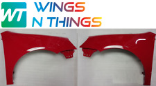 New VW Golf MK5 2004-09  DRIVER & PASSENGER WINGS PAINTED LY3D Tornado Red