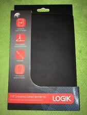 GENUINE LOGIK   7'' - 8'' inch UNIVERSAL Tablet  Case/Cover  - Black