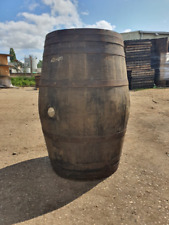 More details for hogshead scotch whiskey oak wooden barrel garden planter bar large bourbon cask
